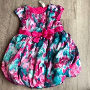 New girls 2t dress multicolored